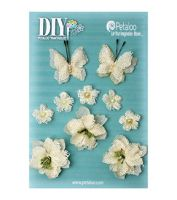 Petaloo - Burlap DIY Blossoms