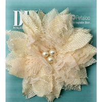 Petaloo - DIY Burlap Birds Nest Ivory