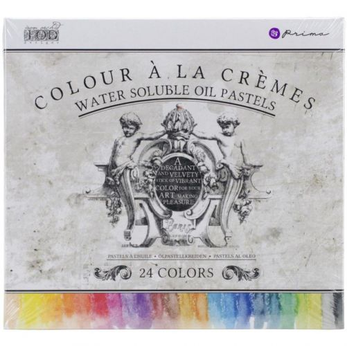 Prima Marketing Oil Pastel Assorted Color Crayons