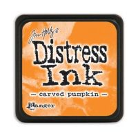 Ranger - Tim Holtz - Distress Ink Pad - Mini - Carved Pumpkin