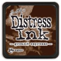 Ranger - Tim Holtz - Distress Ink Pad - Mini - Ground Expresso