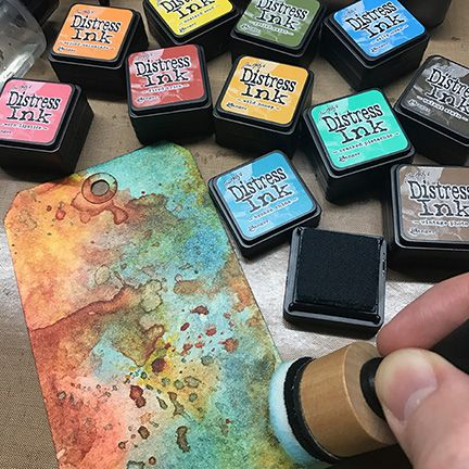 Ranger - Tim Holtz - Distress Ink Pad - Mini Kit - Kit #1
