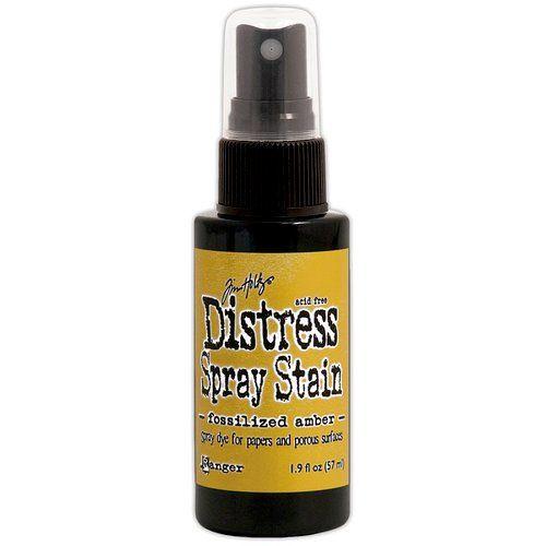 Ranger - Tim Holtz - Distress Spray Stain - Fossilized Amber