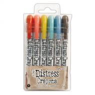 Ranger - Tim Holtz - Distress Crayons - Set #7