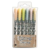 Ranger - Tim Holtz - Distress Crayons - Set #8