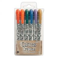 Ranger - Tim Holtz - Distress Crayons - Set #9