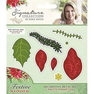 Signature Collection by Sara Davies - Festive Wonder Decorative Metal Die - Pretty Poinsettia