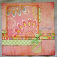 T2S - 61176 12x12 Page Kit- Happy Spring