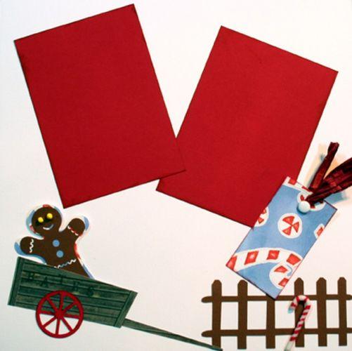 T2S - 61219 12x12 Page Kit- Bates Christmas Wagon