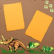 T2S - 61249 12x12 Page Kit- Triceritops