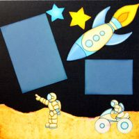 T2S - 61250-12x12 Page Kit- Trip to the Moon