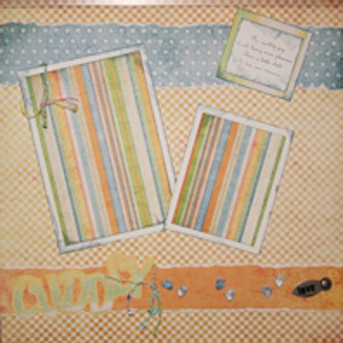 T2S - 61315 12x12 Page Kit- Cuddly
