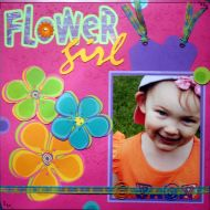 T2S - 61368 12x12 Page Kit- Flower Girl