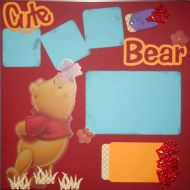 T2S - 61370 12x12 Page Kit- Cute As A Bear