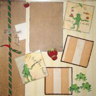 T2S - 61372 12x12 Page Kit- Cooking 1