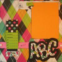 T2S - 61377 12x12 Page Kit- ABC Flip
