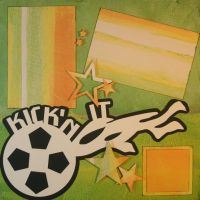 T2S - 61381 12x12 Page Kit- Kickin' It