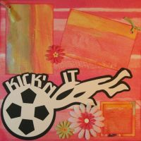 T2S - 61382 12x12 Page Kit- Kickin' It-Pink