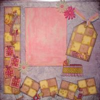 T2S - 61392 12x12 Page Kit- Baby Girl