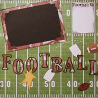 T2S - 61423 12x12 Page Kit- Football