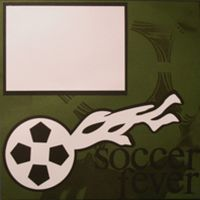T2S - 61424 12x12 Page Kit- Soccer Fever