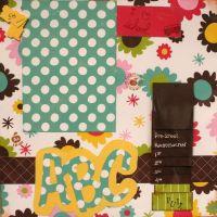 T2S - 61438 12x12 Page Kit- ABC Flip-AC