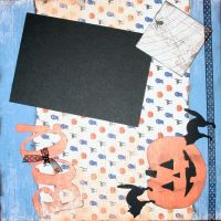 T2S - 61443 12x12 Page Kit- Boo Black Cat