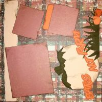 T2S - 61444 12x12 Page Kit- BNF Patchwork