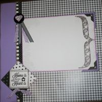 T2S - 61450 12x12 Page Kit- Home is Where the Heart Is