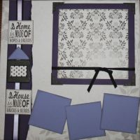 T2S - 61453 12x12 Page Kit- Home Is Made of Love