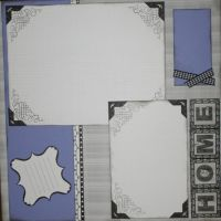 T2S - 61454 12x12 Page Kit- Home