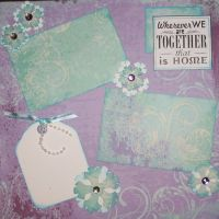 T2S - 61457 12x12 Page Kit- Wherever We Are