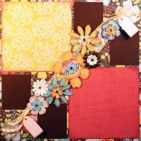 T2S - 61461 12x12 Page Kit- Adorn Flower Streamer