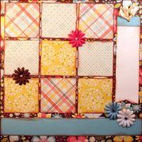 T2S - 61462 12x12 Page Kit- Adorn Squares