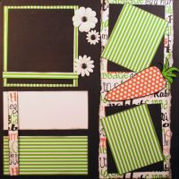 T2S - 61469 12x12 Page Kit- Easter Carrot