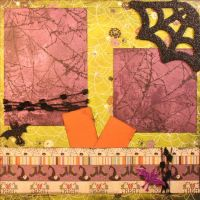 T2S - 61478 12x12 Page Kit- Eerie-Trick or Treat
