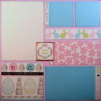 T2S - 61479 12x12 Page Kit- Egg Hunt