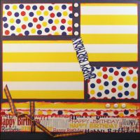 T2S - 61481 12x12 Page Kit- Happy Birthday 1