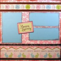 T2S - 61483 12x12 Page Kit- Happy Spring