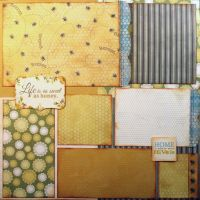 T2S - 61484 12x12 Page Kit- Home is Where Your Hive Is