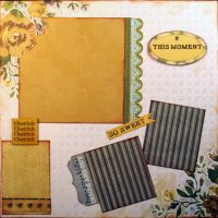 T2S - 61487 12x12 Page Kit- This Moment