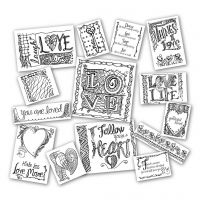 Tattered Angels - Tatteted Tangled Pack - Love