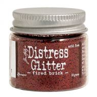 Ranger - Tim Holtz - Distress Glitter - Fire Brick