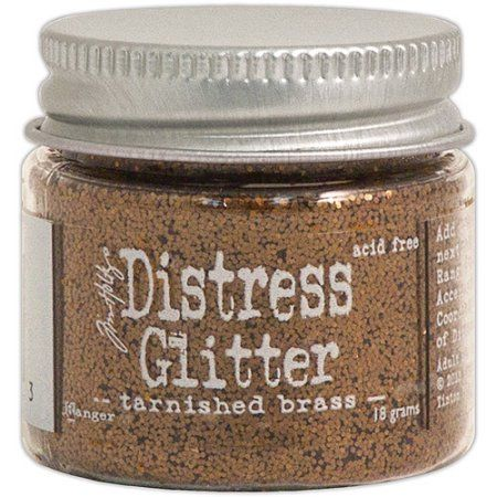 Ranger - Tim Holtz - Distress Glitter - Tarnished Brass