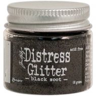 Ranger - Tim Holtz - Distress Glitter - Black Soot