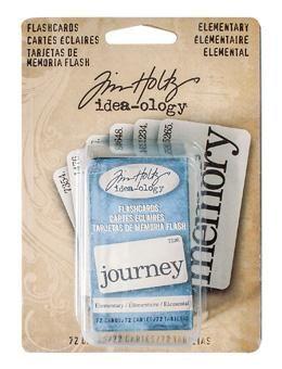 Tim Holtz - Idea-ology - Flash Cards - Elementary
