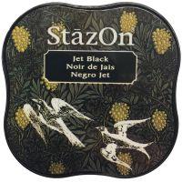 Tsukineko - StazOn - Midi Ink Pad - Jet Black