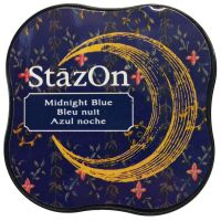 Tsukineko - StazOn - Midi Ink Pad - Midnight Blue