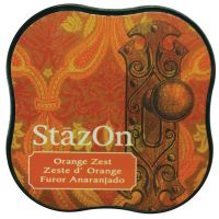 Tsukineko - StazOn - Midi Ink Pad - Orange Zest