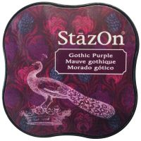 Tsukineko - StazOn - Midi Ink Pad - Gothic Purple